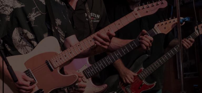 Lowtone Music Auftritt Gitaristen