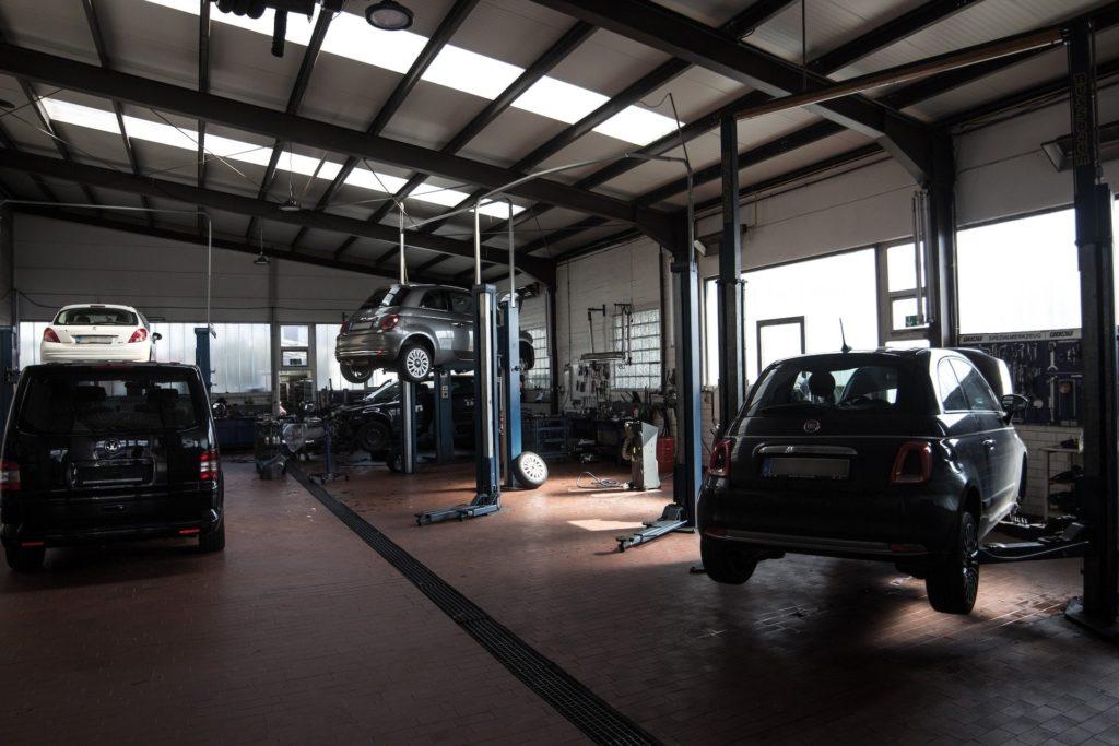 Werkstatt des Autohaus Ahlers